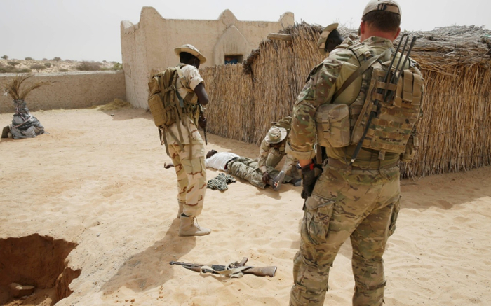 U.S. probes soldiers ambush in Niger