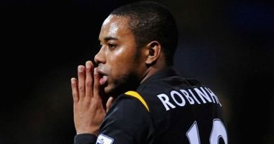 Former Manchester City star Robinho sentenced to nine years in jail after 2013 gang-rape