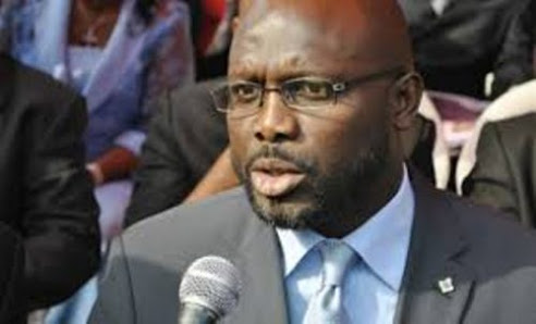 Football superstar George Weah becomes Liberia President