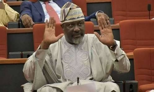 Senator  Dino Melaye in trouble, linked to notorious kidnap, robbery gang (Pictures)