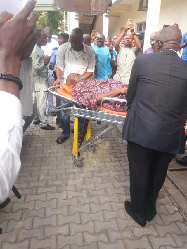 Melaye arrives court on stretcher, granted bail