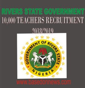 Teaching job: Rivers State Govt releases guidelines on how to apply