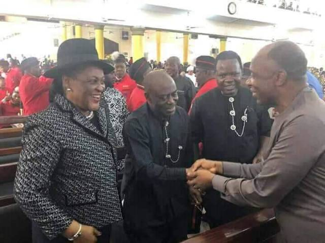 Odili, Amaechi meet in Port Harcourt