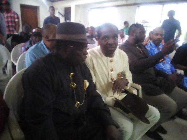 Breaking: Abonnema agog, as Tonye Cole storms ancient City