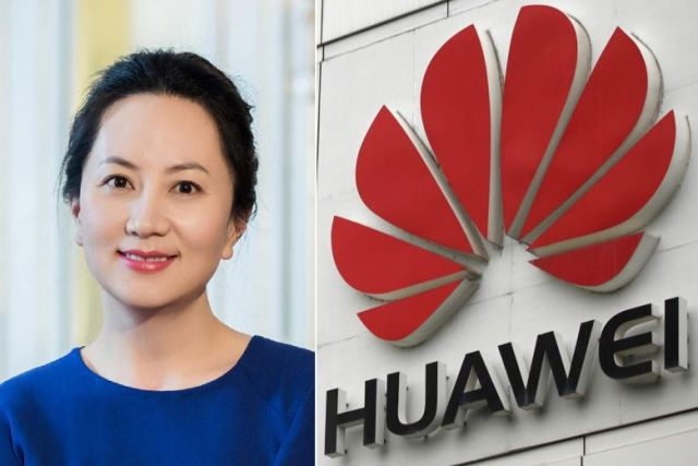 Huawei founder's Daughter arrested in Canada at US request