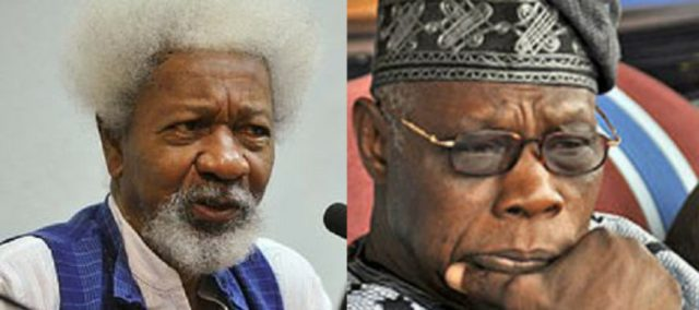Obasanjo unfit to be Nigeria's moral guardian- Soyinka