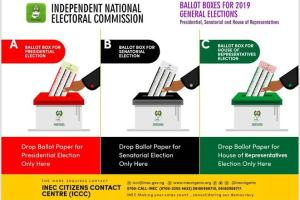 2019 Elections: INEC releases colours of the ballot papers and boxes