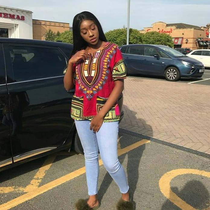 Dashiki top for college students