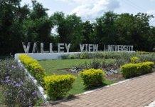 Valley View University student portal
