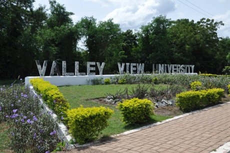 Valley View University student portal