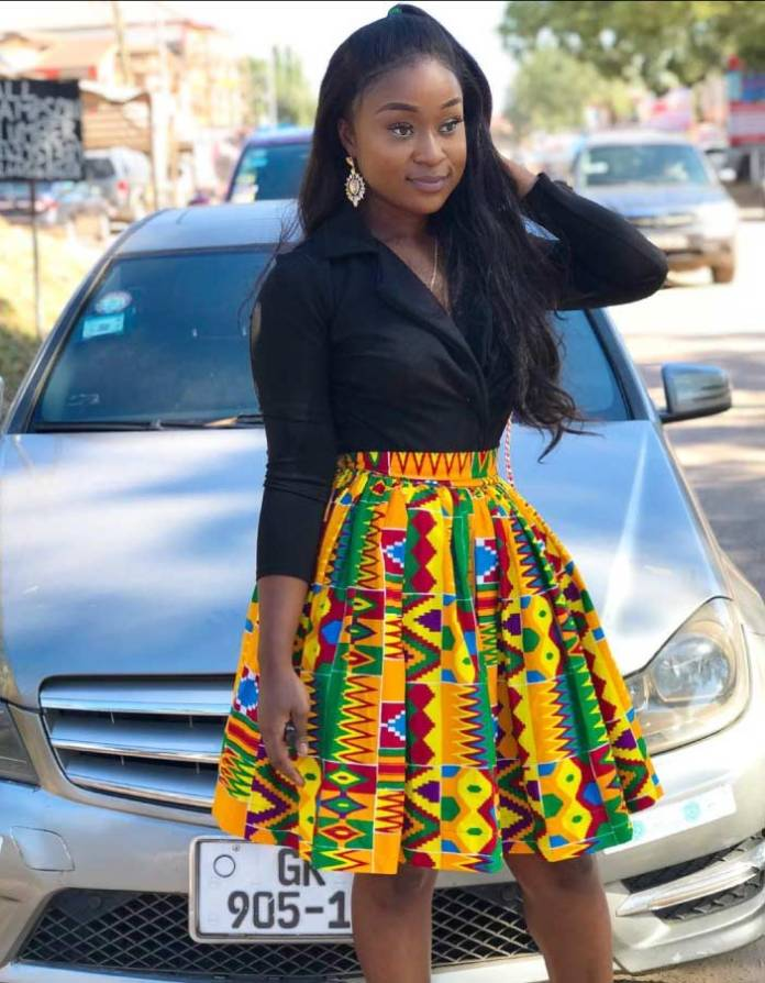 Efia odo in african wear