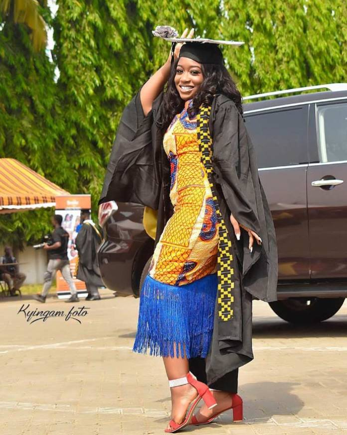 African print graduation style for ladies