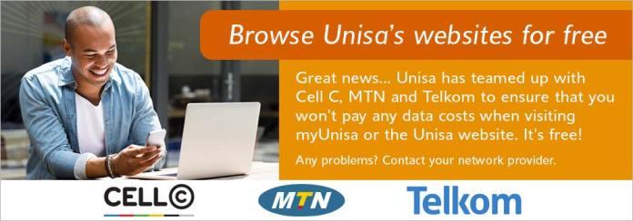 Unisa free web browsing