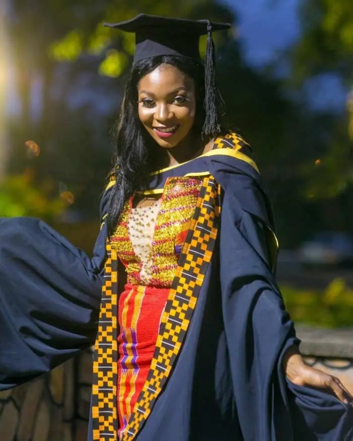 university graduation dress