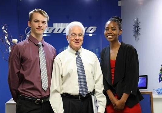 Boeing Interns in South Africa