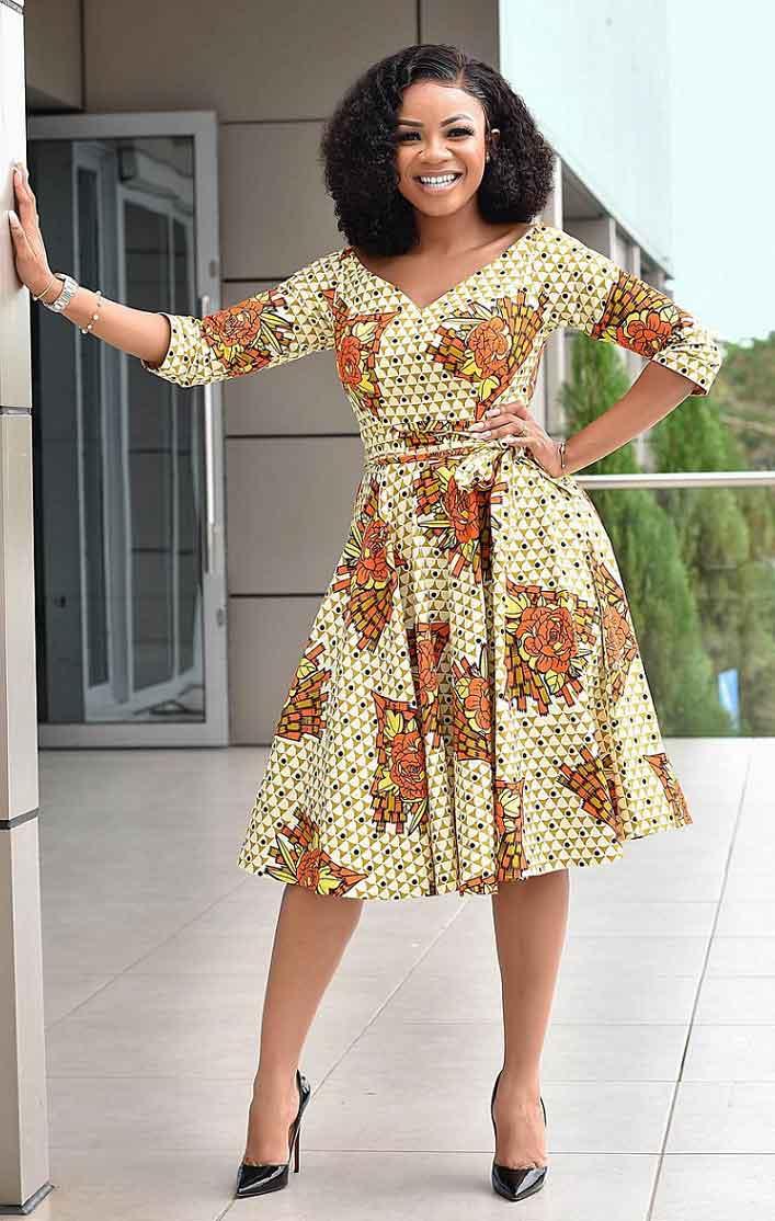 Serwaa Amihere african print style