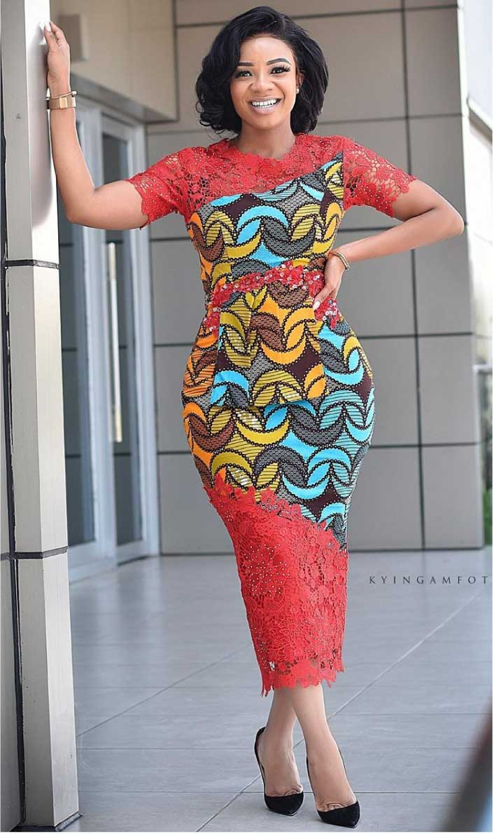 Serwaa Amihere in African fashion dress