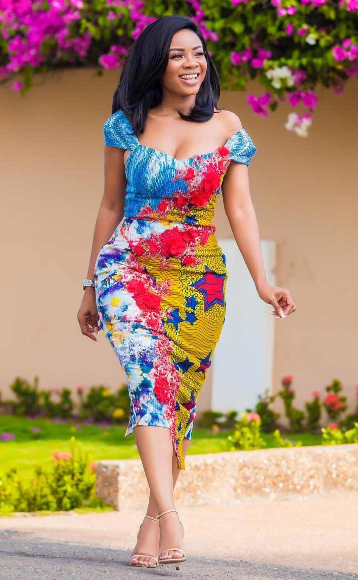 serwaa amihere african outfit