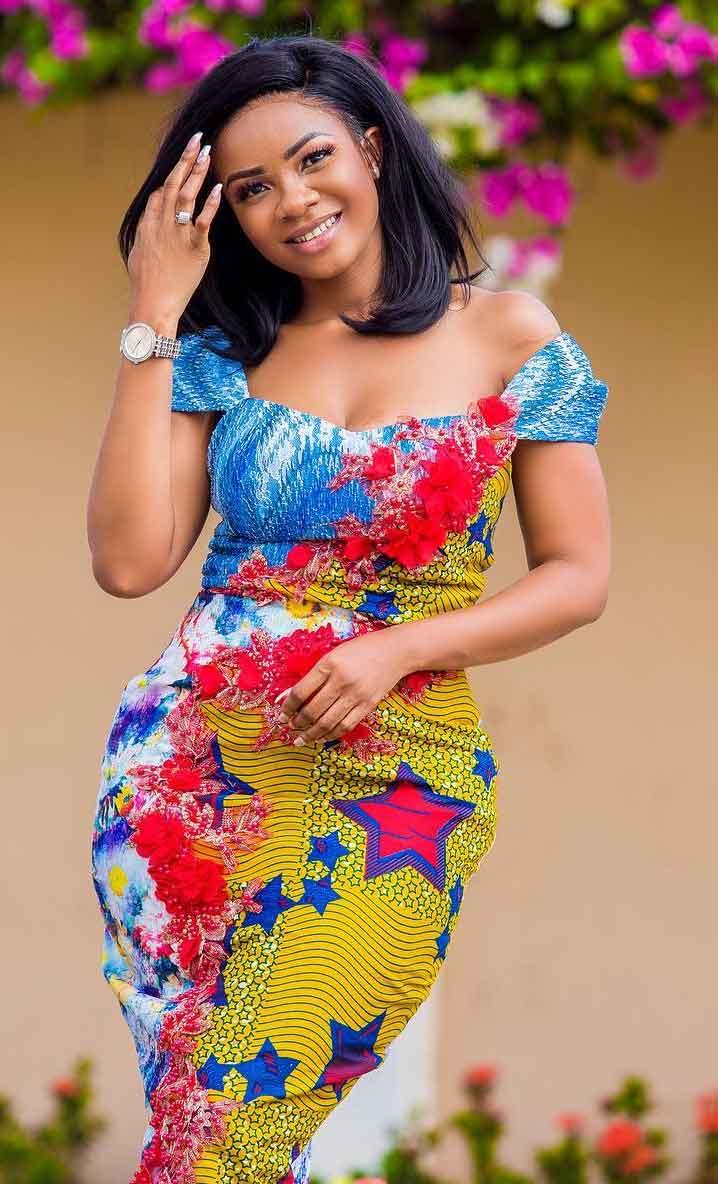 serwaaamihere african print dress