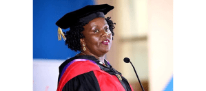 Annie Kameri-Mbote First Kenyan woman to receive a higher doctorate degree from the University of Nairobi