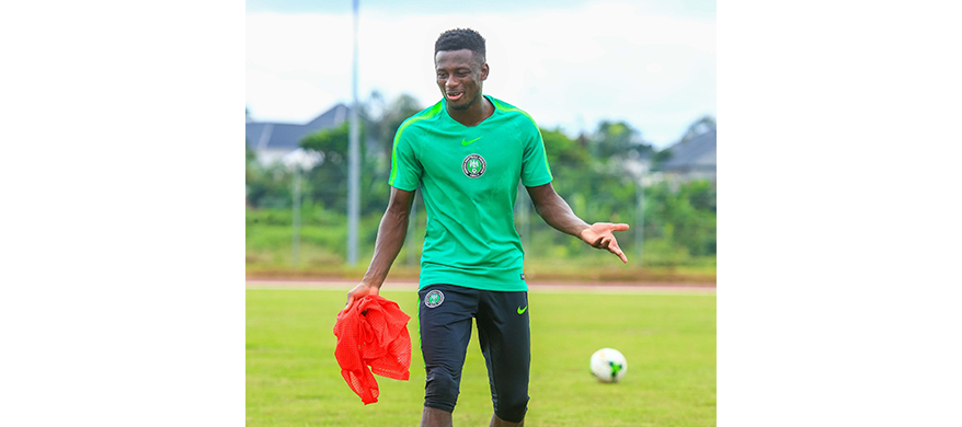 Super Eagles defender, Collins set to return from injury-induced layoff against Cameroon