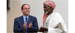 The US honors African man who hid Christians from bandits