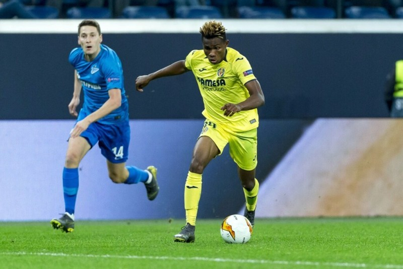 Chukwueze makes list of 50 promising talents in Europe