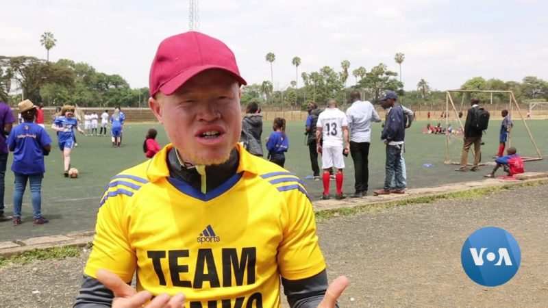 World's First Albino Soccer Team is Kenya's Black Albinism Football Club