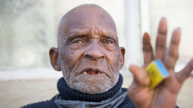 World Oldest Man Fredie Blom