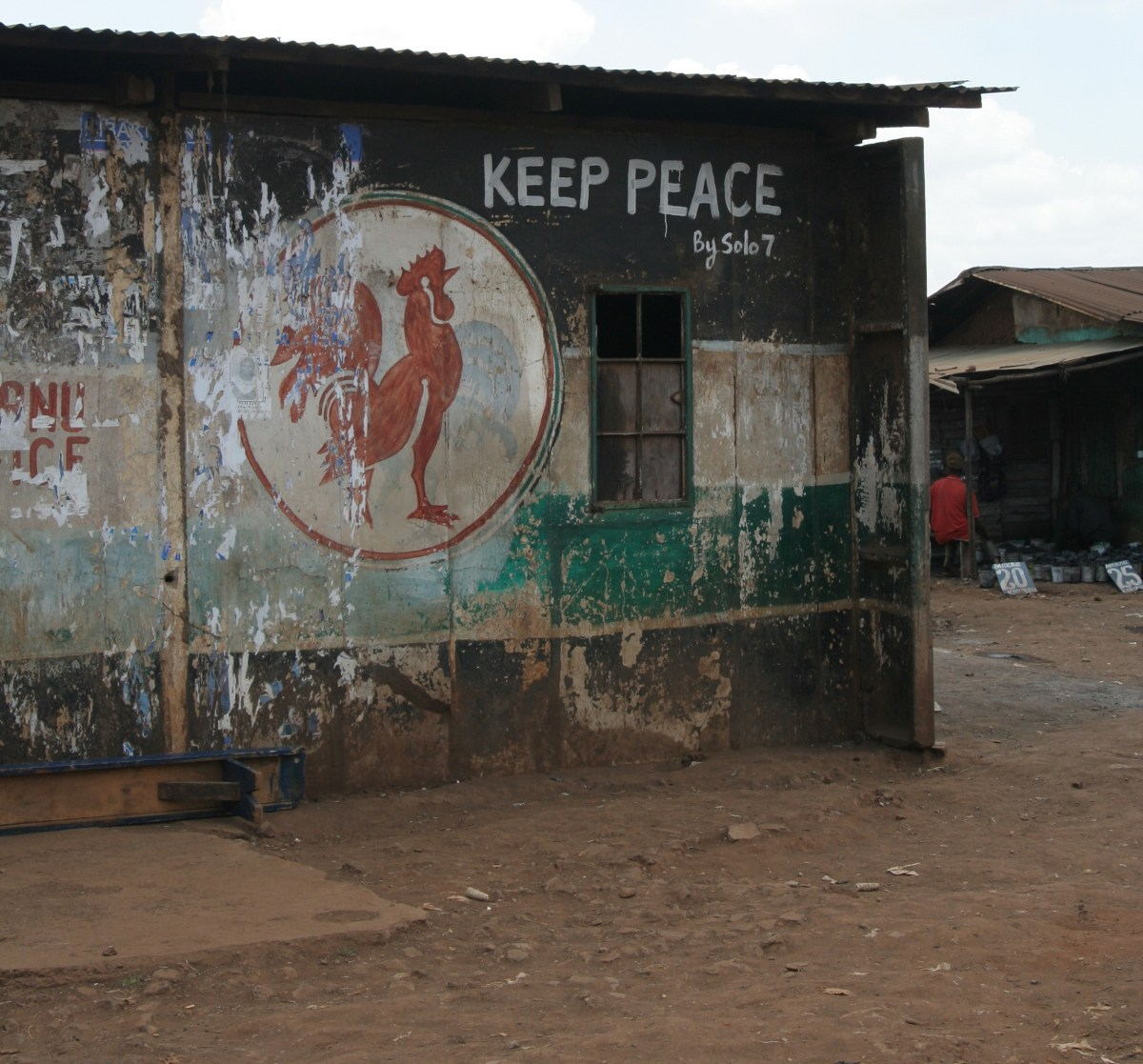 Old Party Office in Kibera