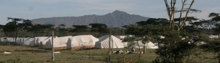 Post-election IDP camp at Naivasha, Kenya, 2008
