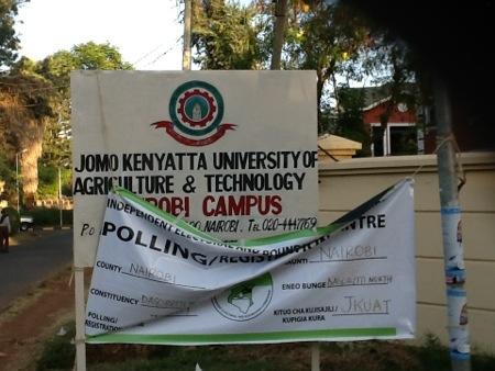 Kenya 2013 Polling Station Nairobi Dagorreti North