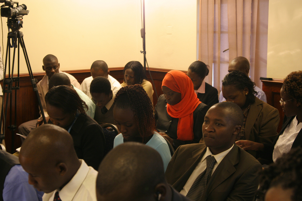 Kenya election Nairobi IRI USAID Poll Release Press Conference
