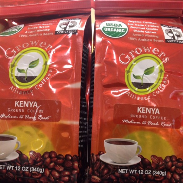 Growers Alliance Coffee from Kenya