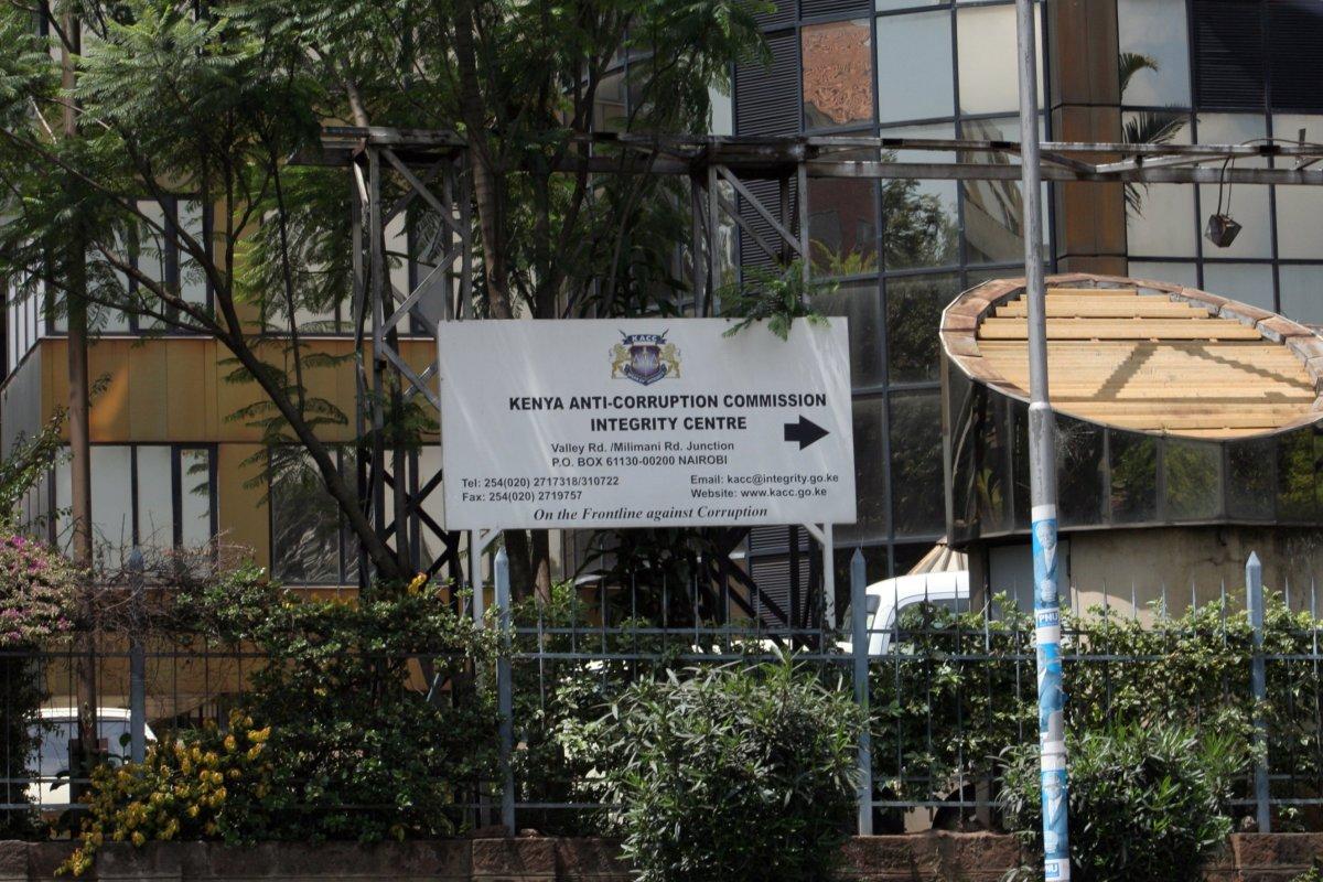 Kenya EACC at Integrity Centre Nairobi