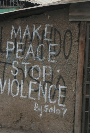 Kenya Kibera Post Election Violence Livondo Tosha Keep Peace