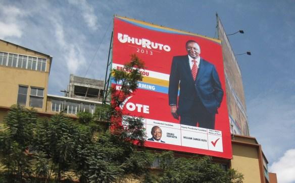 "Uhuru  Kenyatta ""UhuRuto"" Kenya presidential campaign"