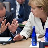 Rencontre au sommet entre la France et l´Allemagne ce mercredi 19 février 2014 á Paris