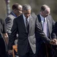 Obama à Selma: La longue marche contre la discrimination raciale continue