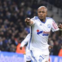 Prix Marc-Vivien Foé : le Ghanéen André Ayew, milieu de terrain de Marseille, est élu meilleur footballeur africain du Championnat de France