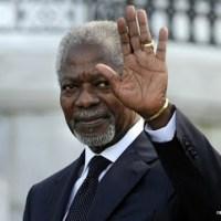 Kofi Annan met d'accord le Ghana et la Côte d'Ivoire sur la gestion de leurs zones offshore frontalières