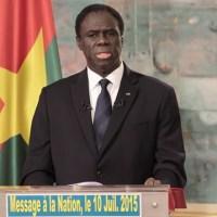 Burkina-Faso: Voici le message à la nation du Président Michel Kafando pour calmer et rassurer son peuple