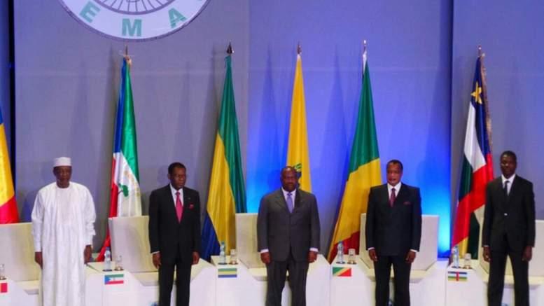 Les Chefs d'Etat de la CEMAC lors d'un sommet