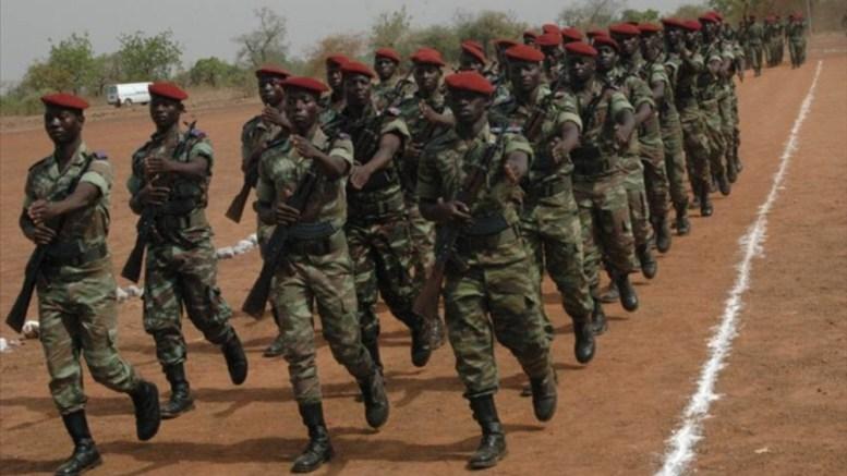 troupes burkinabés