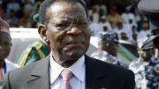 Teodoro Obiang Nguema, président de la Guinée équatoriale
