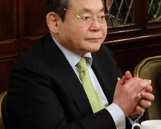 Le PDG de Samsung