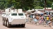 La Minusca en Centrafrique