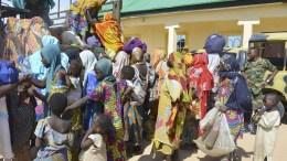 Les enfants au Nigeria