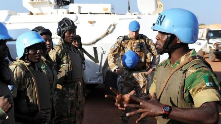Les casques bleus au Soudan du sud
