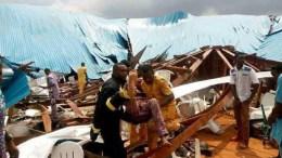Effondrement d'une église au Nigeria